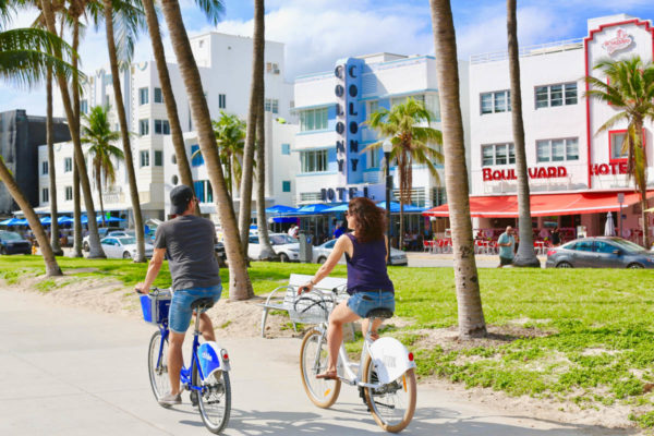 Visite guidée de South Beach à vélo