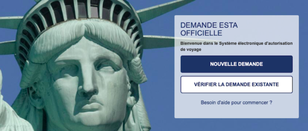 ESTA-document obligatoire pour voyager USA