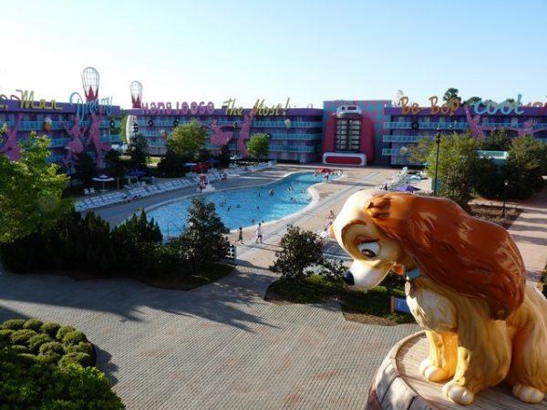 hôtel Pop Century Disneyworld