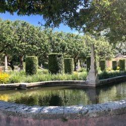 jardin villa Vizcaya Miami