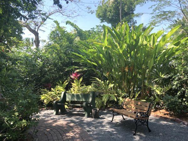 jardin Ernest Hemingway Key West