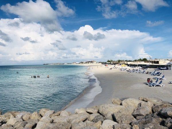 plage Binimi Bahamas