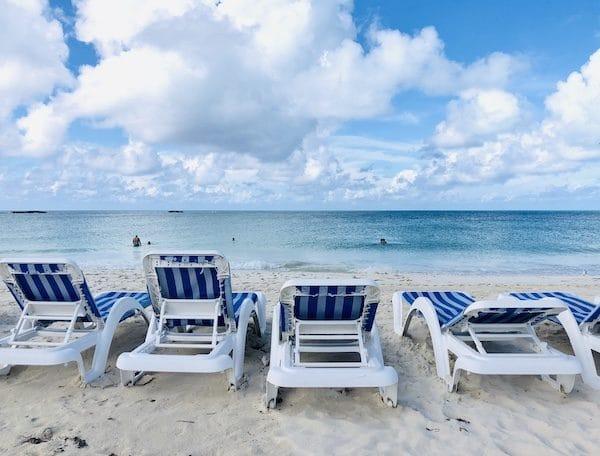 Plage Bimini aux Bahamas