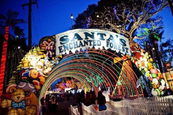 Santa's Enchanted Forest Noël Floride