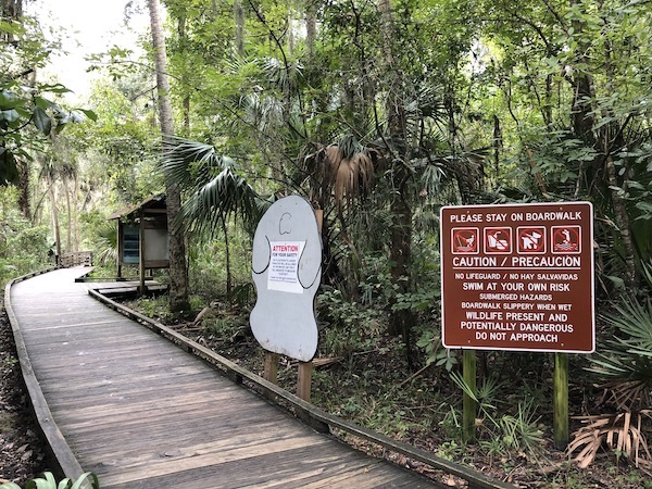 Blue Springs State Park Floride