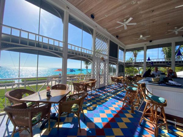 Long Island bahamas restaurant cape santa maria