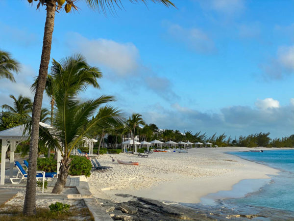 Long Island bahamas plage beach