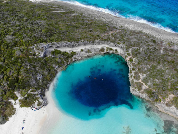 Long Island bahamas dean blue hole