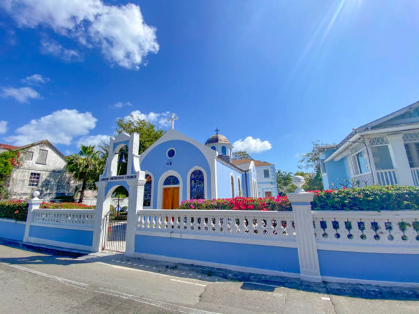 nassau bahamas eglise grecque orthodoxe