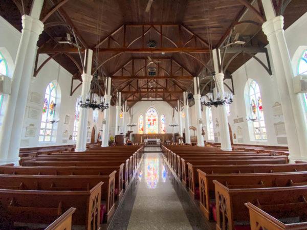nassau bahamas cathedrale anglicane