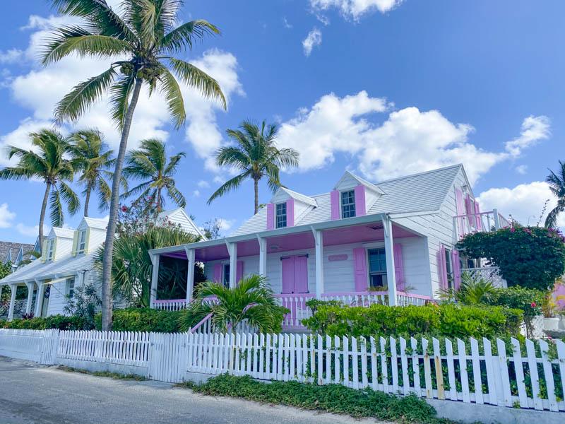 Harbour Island jolies maisons