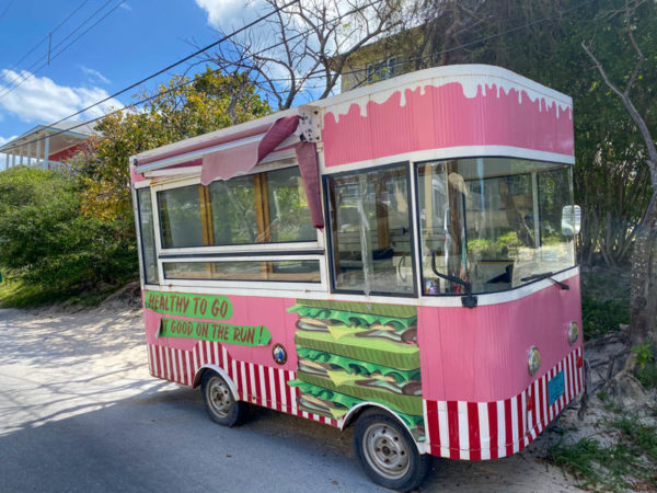 Harbour Island food truck