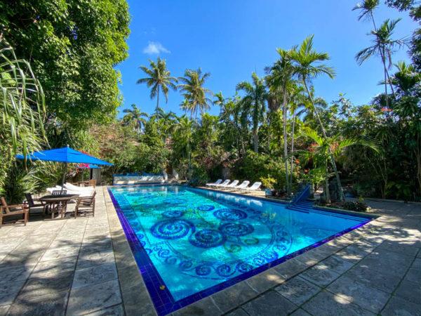 nassau bahamas  Graycliff Hotel piscine