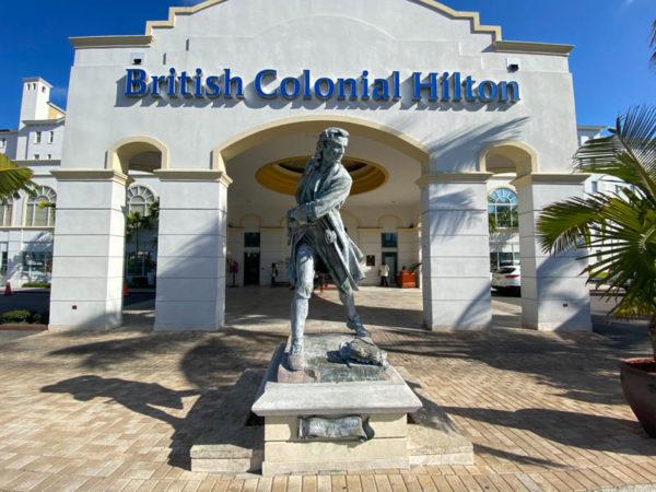 British Colonial hôtel Hilton nassau bahamas