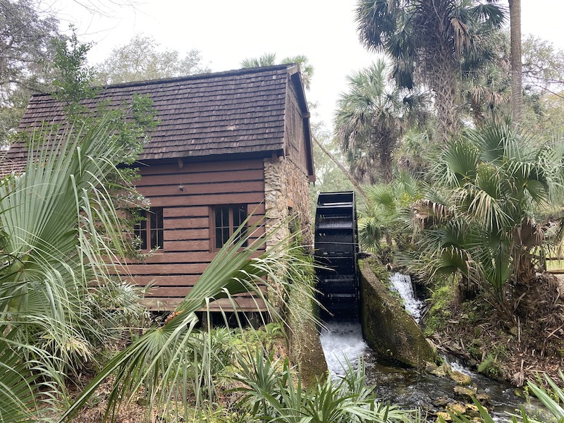 Old Mill House Juniper Springs